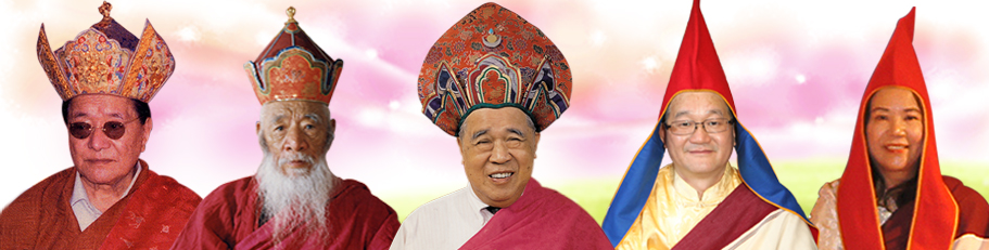 5 Gurus of Dudjom Buddhist Association (International)