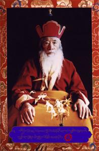 H.H. Kyabje Chadral Rinpoche