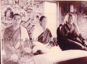 Three High Lamas of Nyingmapa