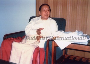 HH Dudjom Rinpoche1 & Dudjom Buddhist Association (International)