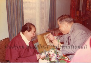 12 Guru Lau was Joking with HH Dudjom Rinpoche (1981)