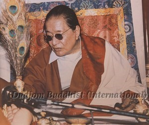 12 HH Dudjom Rinpoche Giving Empowerments (1984)