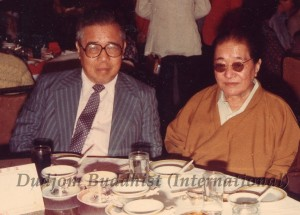 12 HH Dudjom Rinpoche with Guru Lau in Hong Kong (1981)