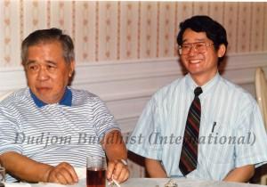 2. Guru Lau with Yeshe Thaye (1986)