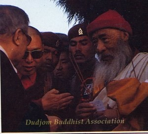 25 Guru Lau's Meeting with HH Kyabje Chadral Rinpoche in Nepal (1989)