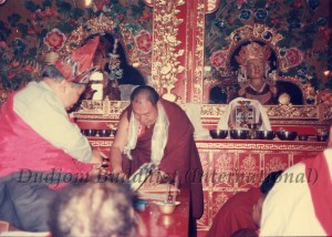 28 Guru Lau with Lama Rinchin in Nepal (1989)