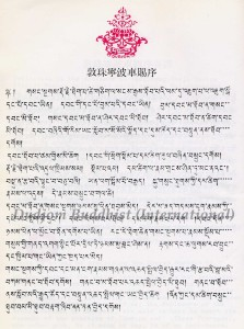 8 HH Dudjom Rinpoche's Preface for the Book on Silas-p1