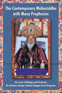 Cover of the Namthar of Dorje Chang His Holiness Kyabje Chadral Sangye Dorje Rinpoche (1913-2015)