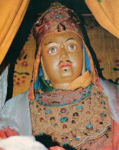 Guru Rinpoche at Samye Monastery