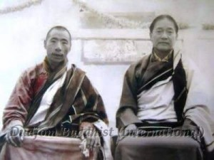 HH Chadral Rinpoche & HH Dudjom Rinpoche