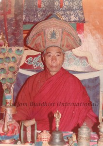 HH Kyabje Chadral Rinpoche 12