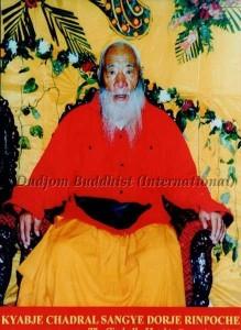 HH Kyabje Chadral Rinpoche (2000)