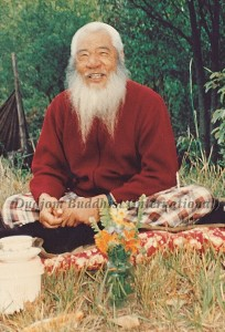 HH Kyabje Chadral Rinpoche at rest