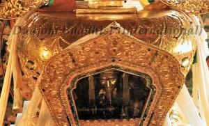 HH Kyabje Dudjom Rinpoche's Kudung inside the Stupa (1989)