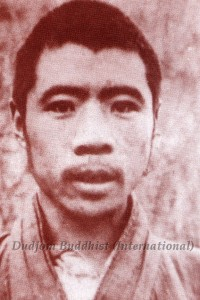 His Holiness Chadral Rinpoche at His Youth