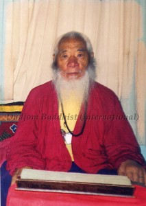His Holiness Chadral Rinpoche(4)