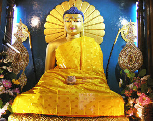 Lord Buddha at Bodh Gaya