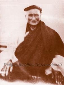 Terchen Dudjom Lingpa's youngest son Dorje Dradul