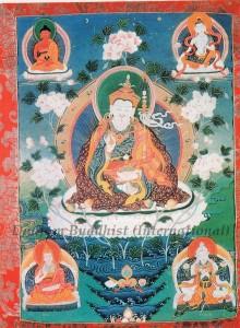Thangka 1 - Guru Pema Jungne