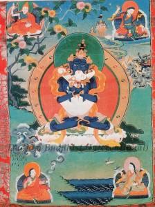 Thangka 2 - Guru Tsokye Dorje