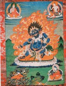 Thangka 8 - Guru Senge Dradog