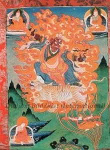 Thangka 9 - Guru Dorje Drolo