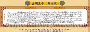 The Appointment of the title Vajra Regen t to Kyabje Chatral Rinpoche by HH Dudjom Rinpoche