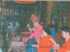 Ven. Guru Lau Led the Practice of Sojong with Yeshe Thaye at th