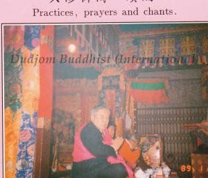 Ven. Guru Lau leading his disciples inside the Kudung Gompa-small