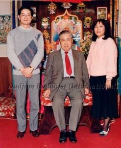 Ven. Guru Lau with Yeshe Thaye & Pema Lhadren (1985)